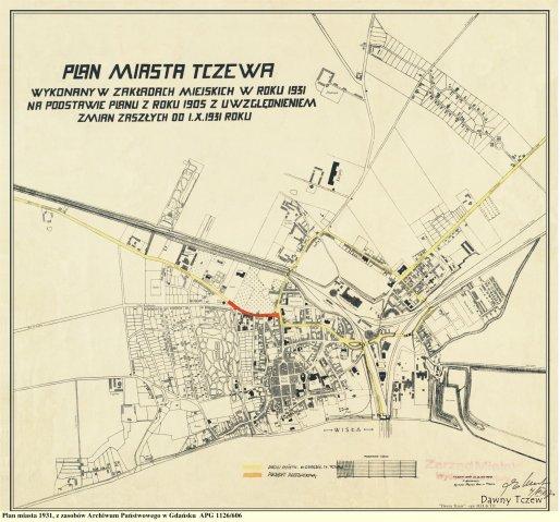 Mapy Tczewa I Okolic